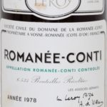 "He said ""Please let me taste that sediment."" 1978 Romanée-Conti"